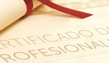acreditación competencias profesionales