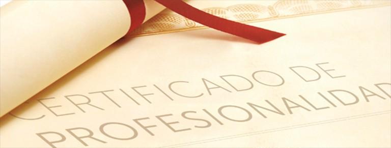 convocatoria murcia Certificado acreditación andalucía certificados de profesionalidad